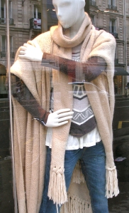 London Retail in Fall of 2010: Blanket Ponchos