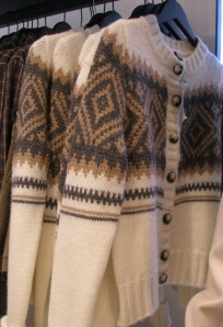 London Retail in Fall of 2010: Knit Sweaters