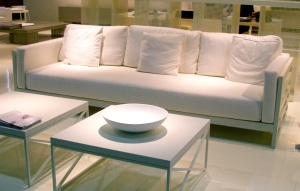 White Leather at Maison et Objet 2010 in Paris
