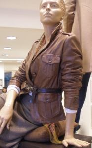 Leather Jacket Trends in Paris for Spring 2011