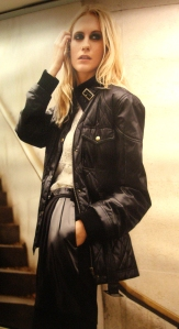 Leather Jacket Trends in Paris - Fall 2010