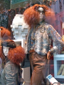 Red Hair Trend from Zara in London