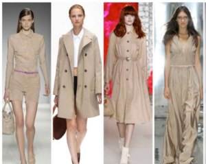 2012 Fashion Color Trend: Just Beige