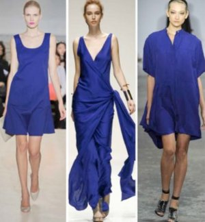 2012 Fashion Color Trend: Clear Blues