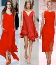 2012 Fashion Color Trend: Feminine Reds
