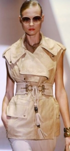 2012 Fashion Trend Research - Sleeveless Jackets