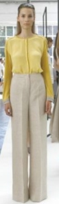 2012 Fashion Trend Research - Wider Easier Pants