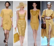 2012 Fashion Color Trend: Optimistic Yellow