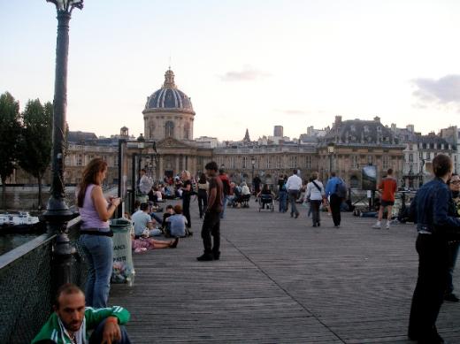 The Locks of the Pont des Arts Bridge