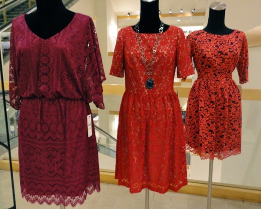 In Stores Fall 2012: Shopping Chicago - Lace