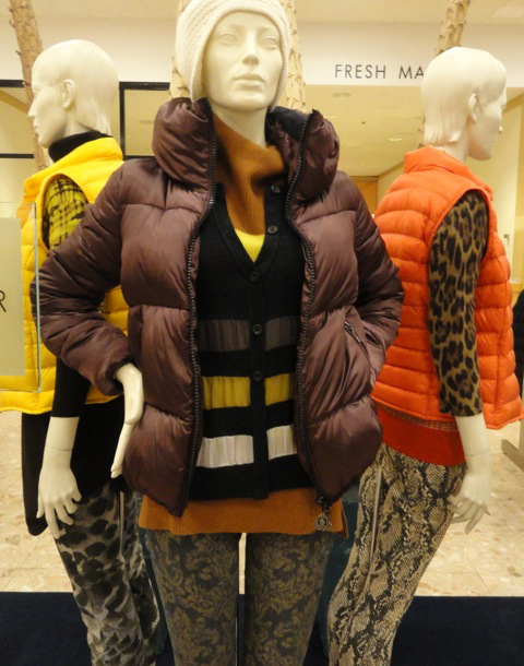 In Stores Fall 2012: Shopping Chicago - Puff Jackets