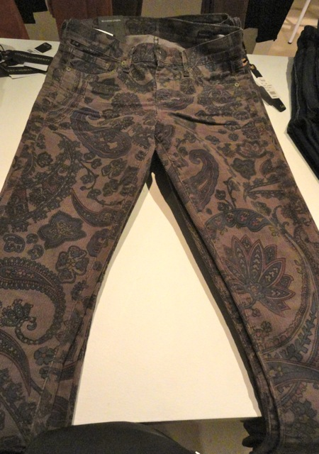 NEWS FROM EUROPE Fall 2012 - Novelty Skinny Jeans