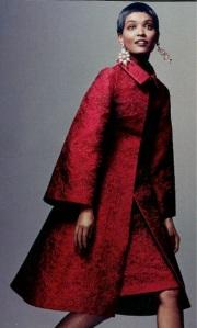 matelasse coat